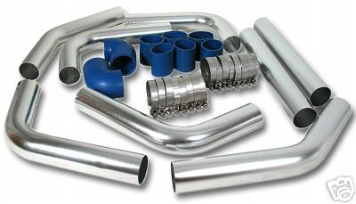 8 Piece Universal Intercooler Piping Kit