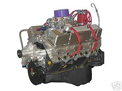 CHEVY 350- 410 HORSEPOWER COMPLETE CRATE MOTOR