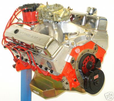 Built 427 Small Block Stroker Crate Engine