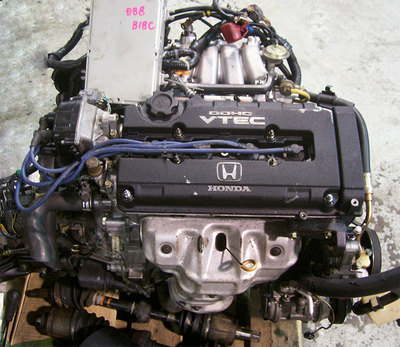 Integra GSR 93-95 B18C SIR (B18C1) OBD-1 DOHC VTEC Engine Only