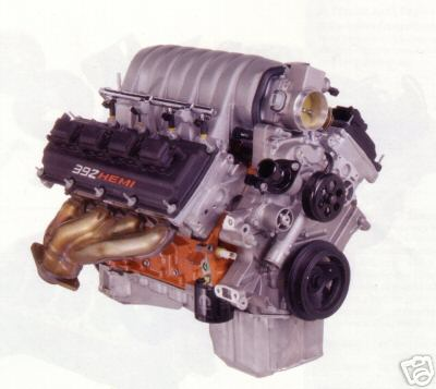 392 Hemi crate engine. Fuel Injected 525 horsepower