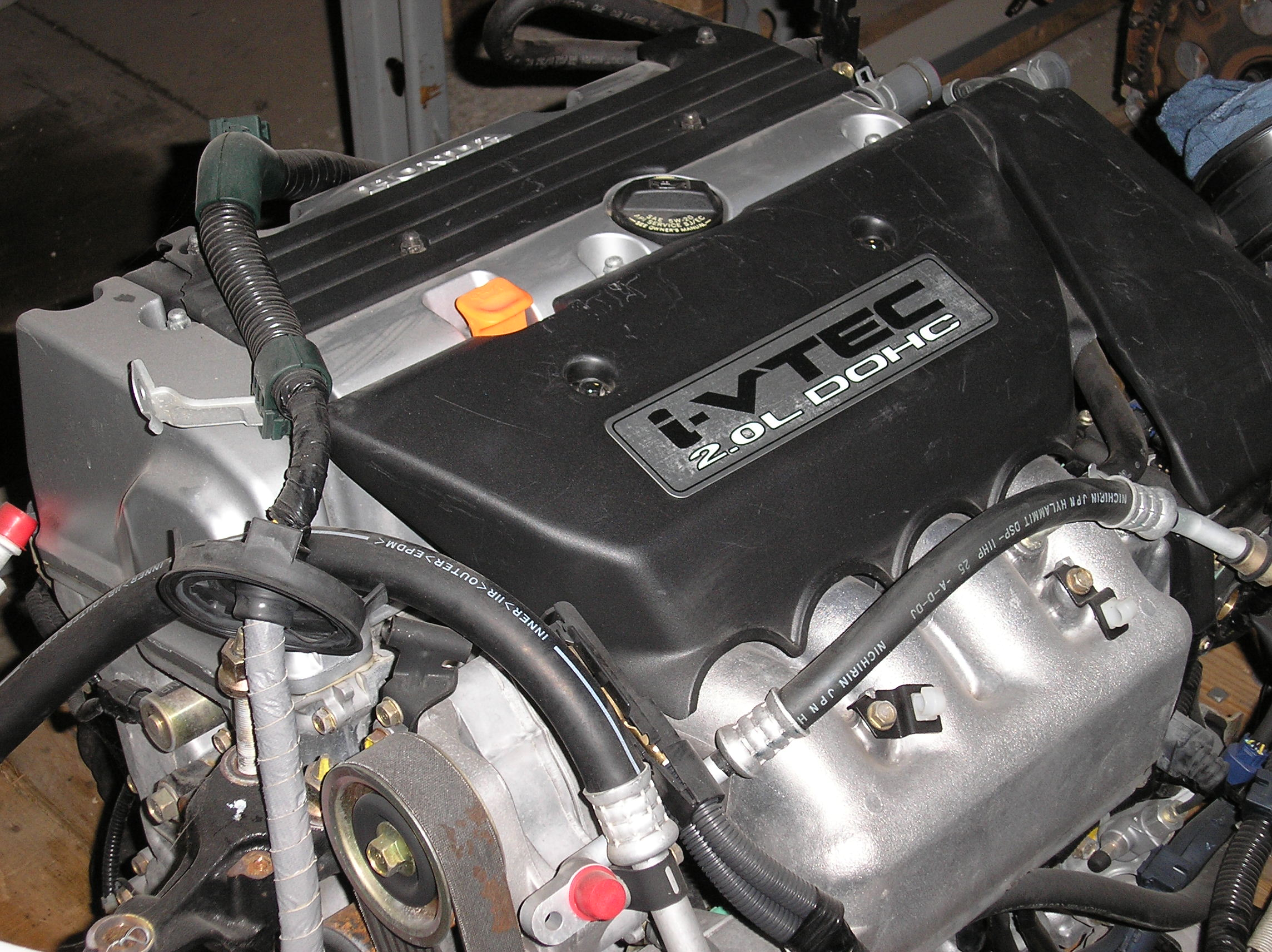 Honda Swapped And Boosted Complete Engine Swaps Turbo Systems 96 Accord Vtec Wiring Harness Rsx 01 06 K20a3 Dohc Ivtec Swap