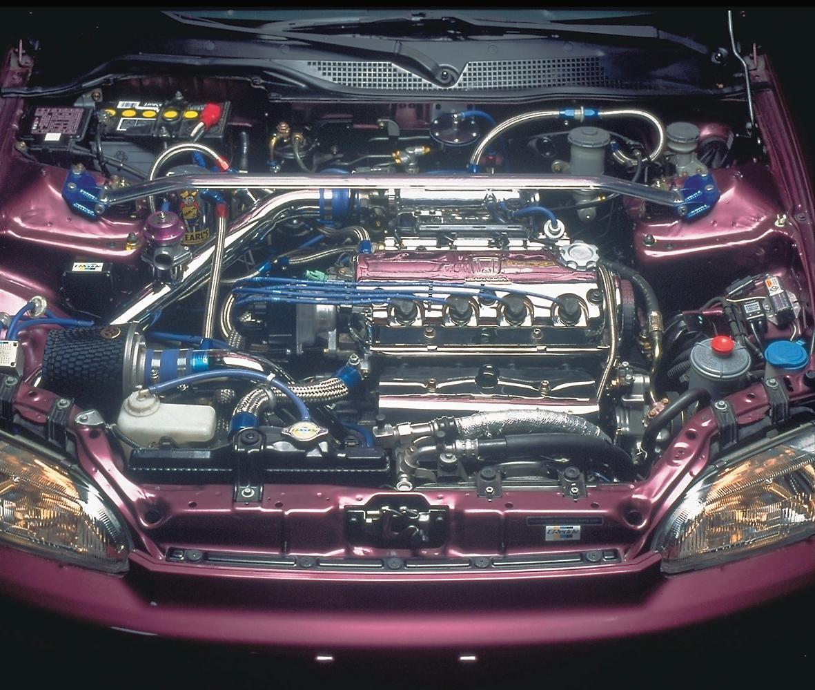 D15 Honda Motor